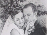 Kemp and Whitney | Portrait Artist Naples FL