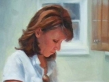 mother-preparing-dinner | Portrait Artist Lacie Oakey