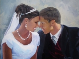 our-wedding-day-3 | Portrait Artist Lacie Oakey